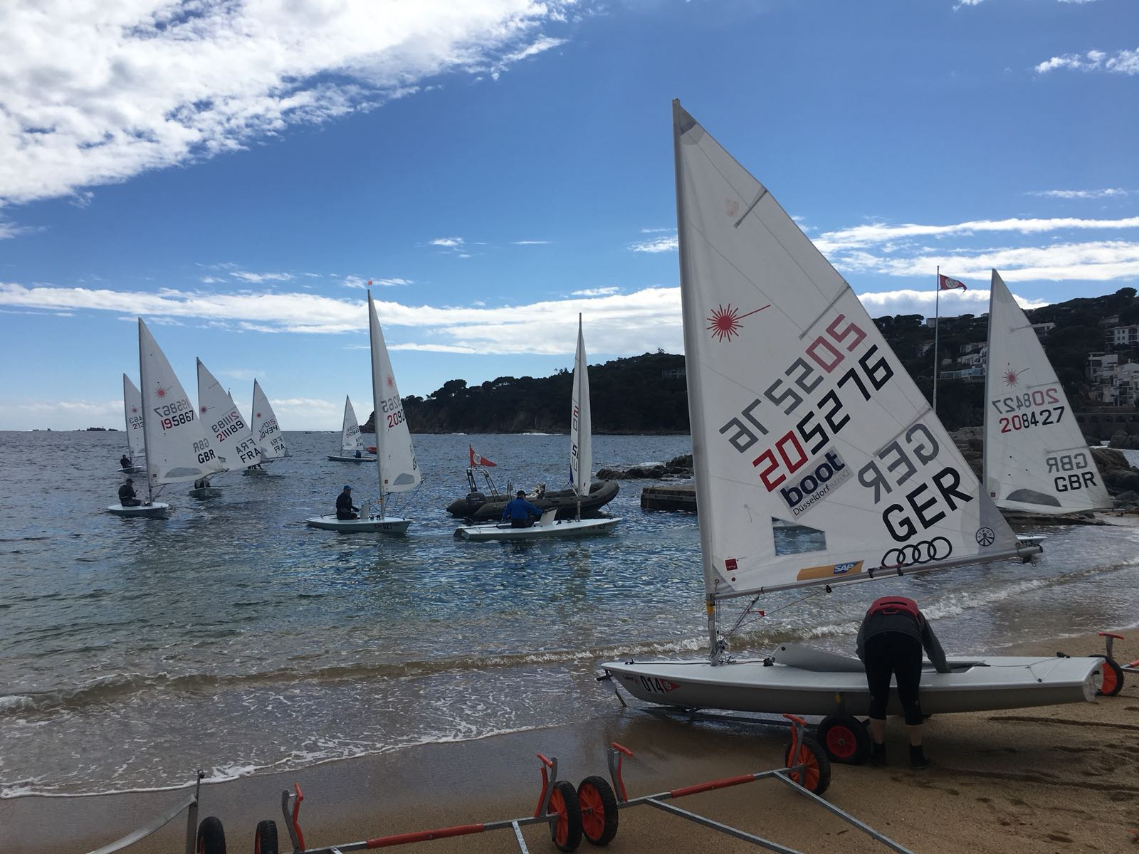 Euro Laser Master Cup 2018