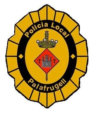 Escut Policia Local Palafrugell